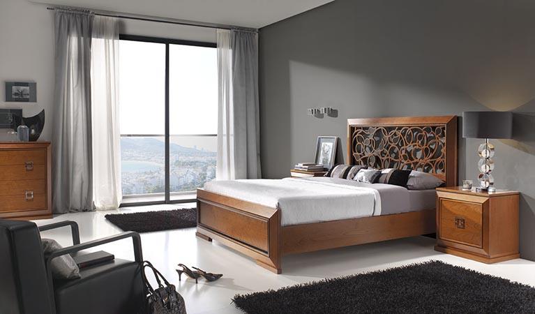 Cama-para-dormitorios-Mar-CABEZAL-CALADO-CEREZO