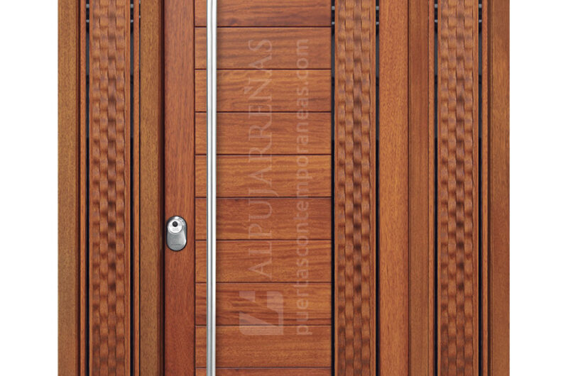 PUERTA-PIVOTANTE-BRONCE Madera Roble Color Natural(1)