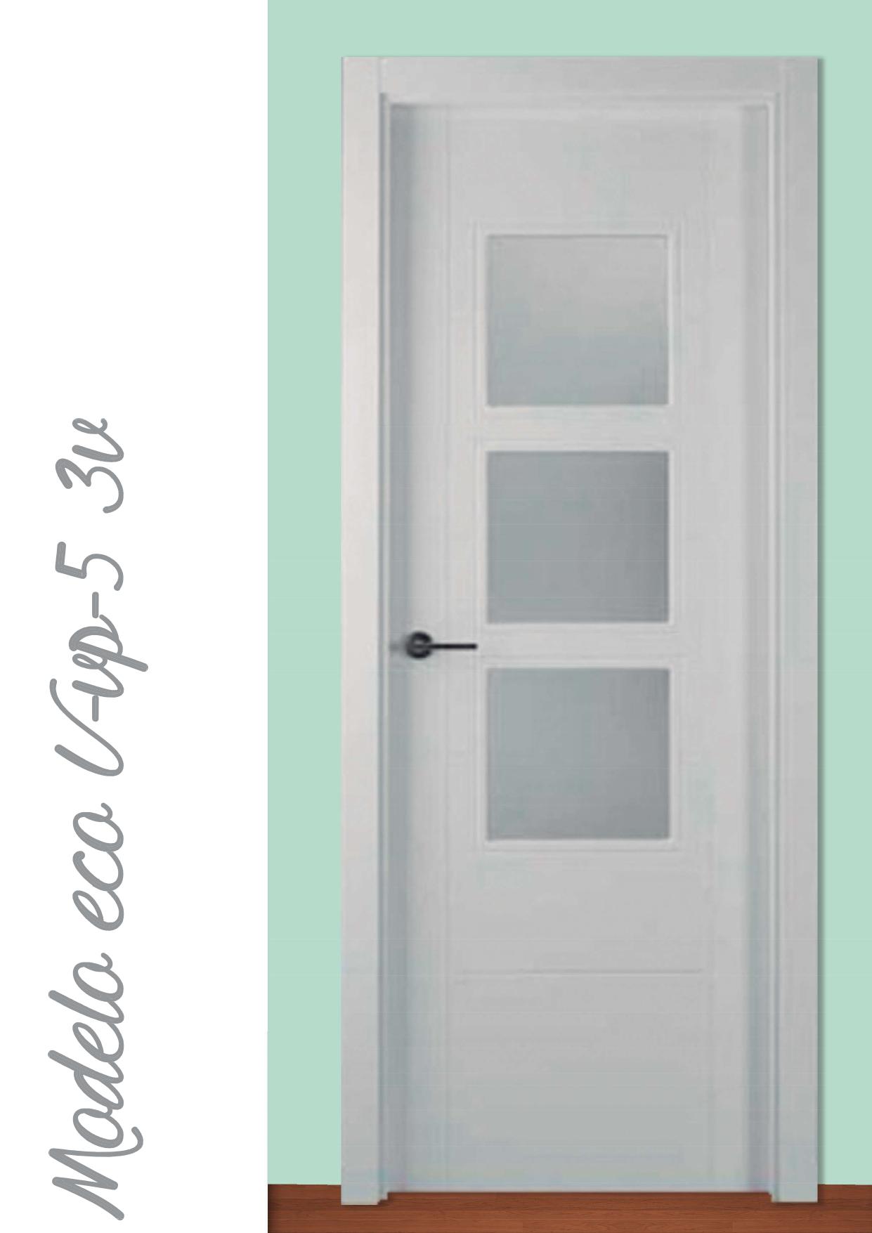 Puerta Modelo Eco U-VP-5 3v