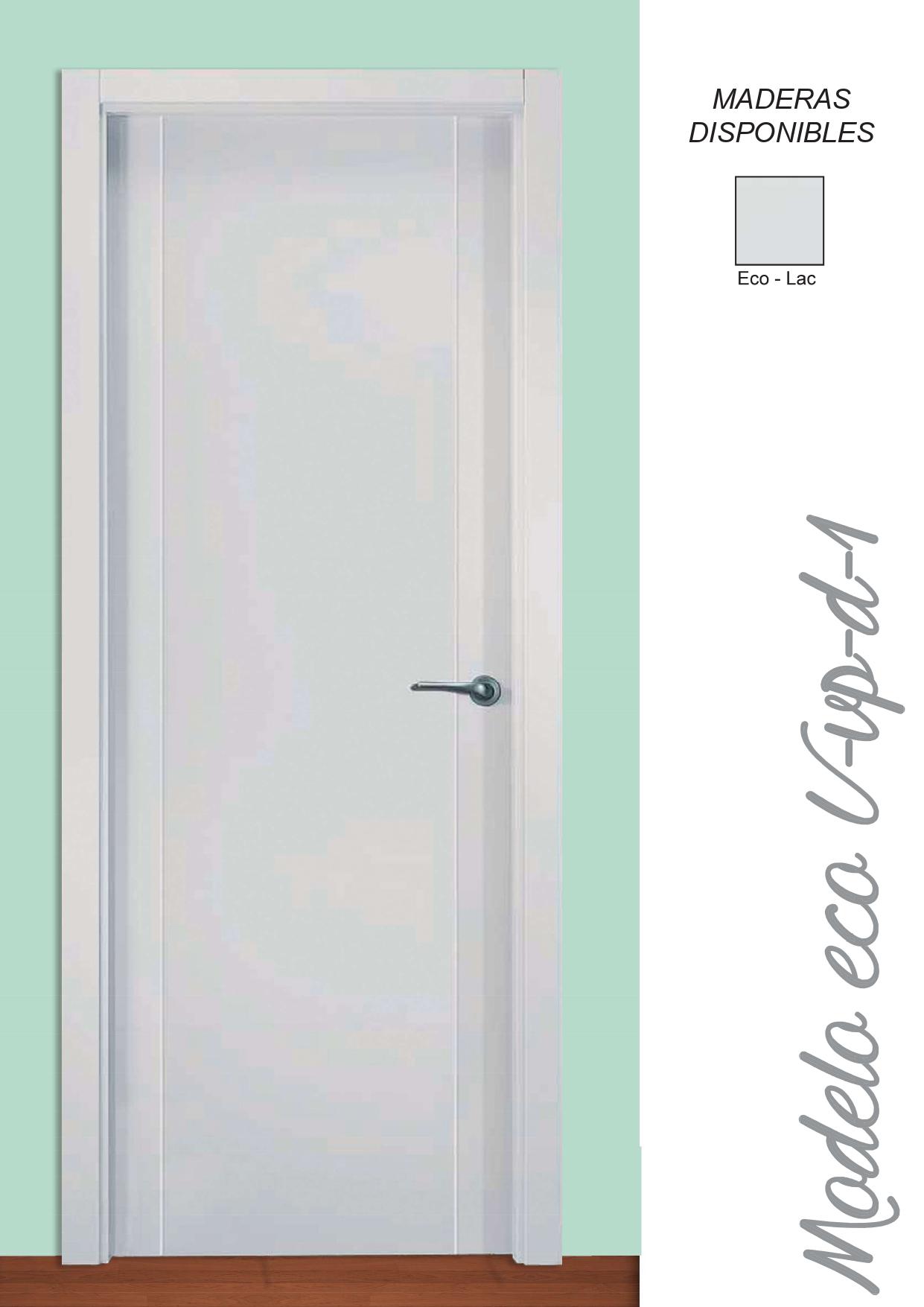 Puerta Modelo Eco U-VP-D-1