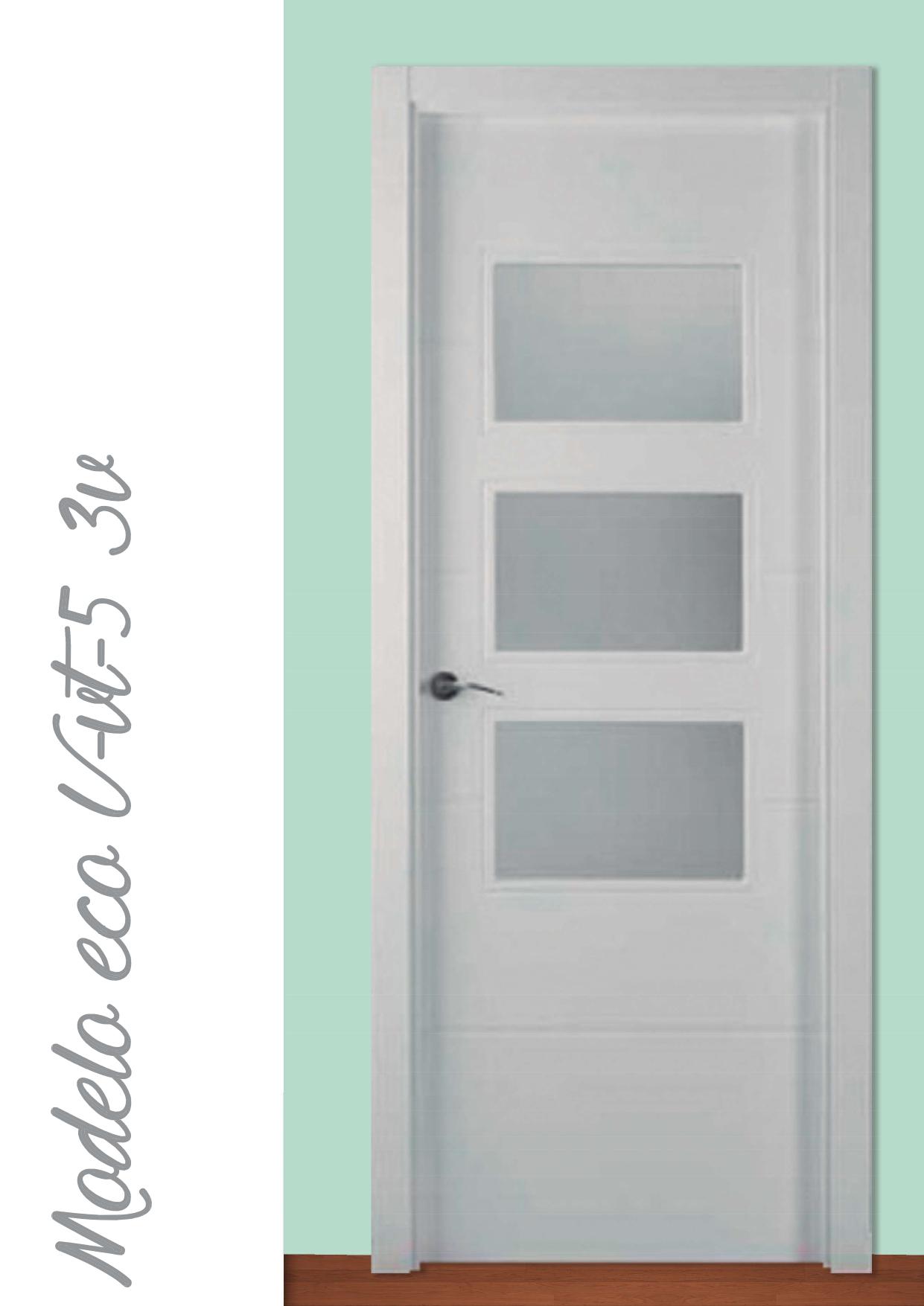 Puerta Modelo Eco U-VT5 3V