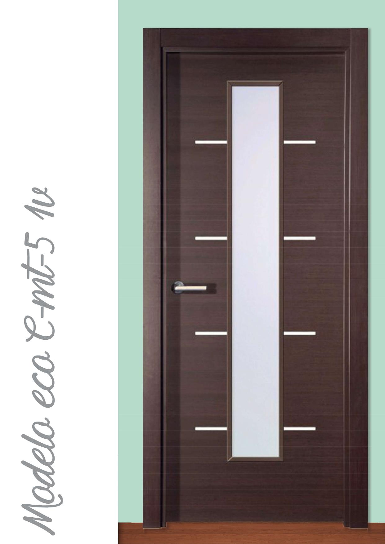 Puerta Modelo Eco e-mt-5 1V