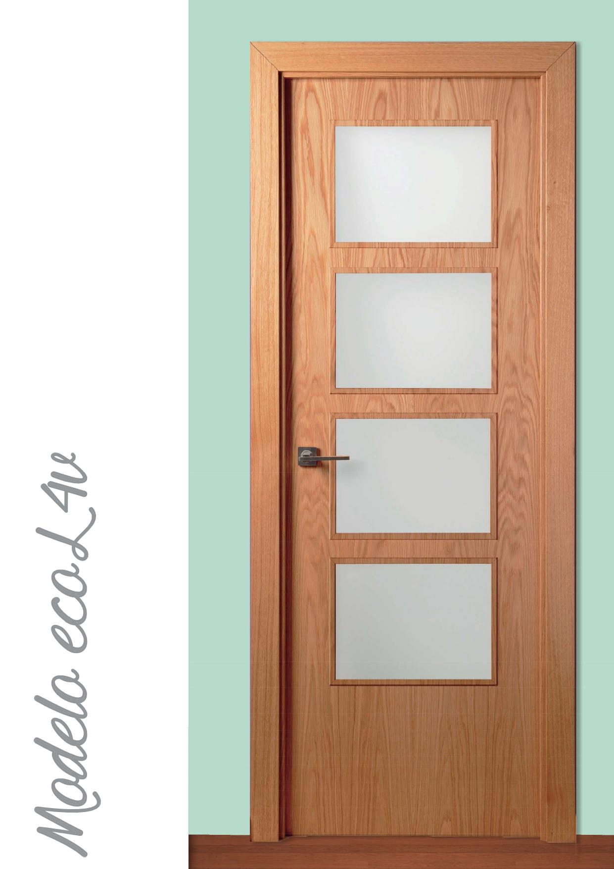 Puerta Modelo EcoL 4V